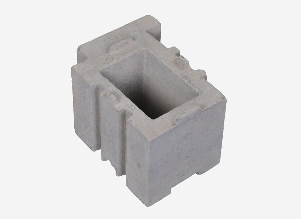 Shuttle-kiln-block